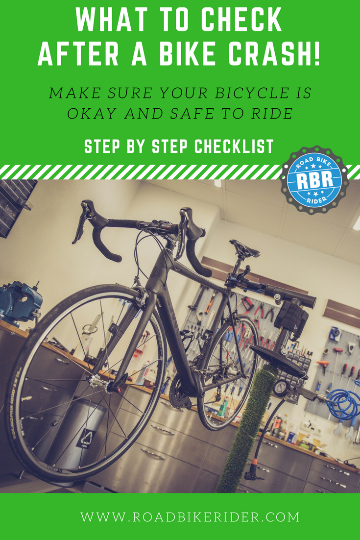 Post Crash Checklist Checking Over Your Bicycle After A Crash