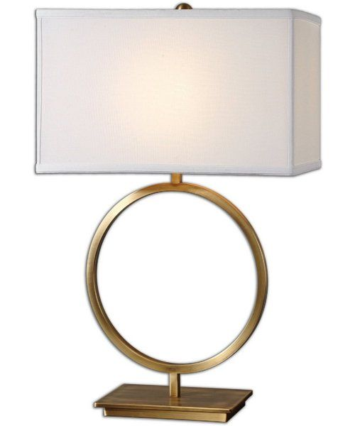 "Fresh 0 28""h Duara 1 Light Table Lamp Plated Brushed Brass Review - Fresh mirrored table lamp Beautiful"