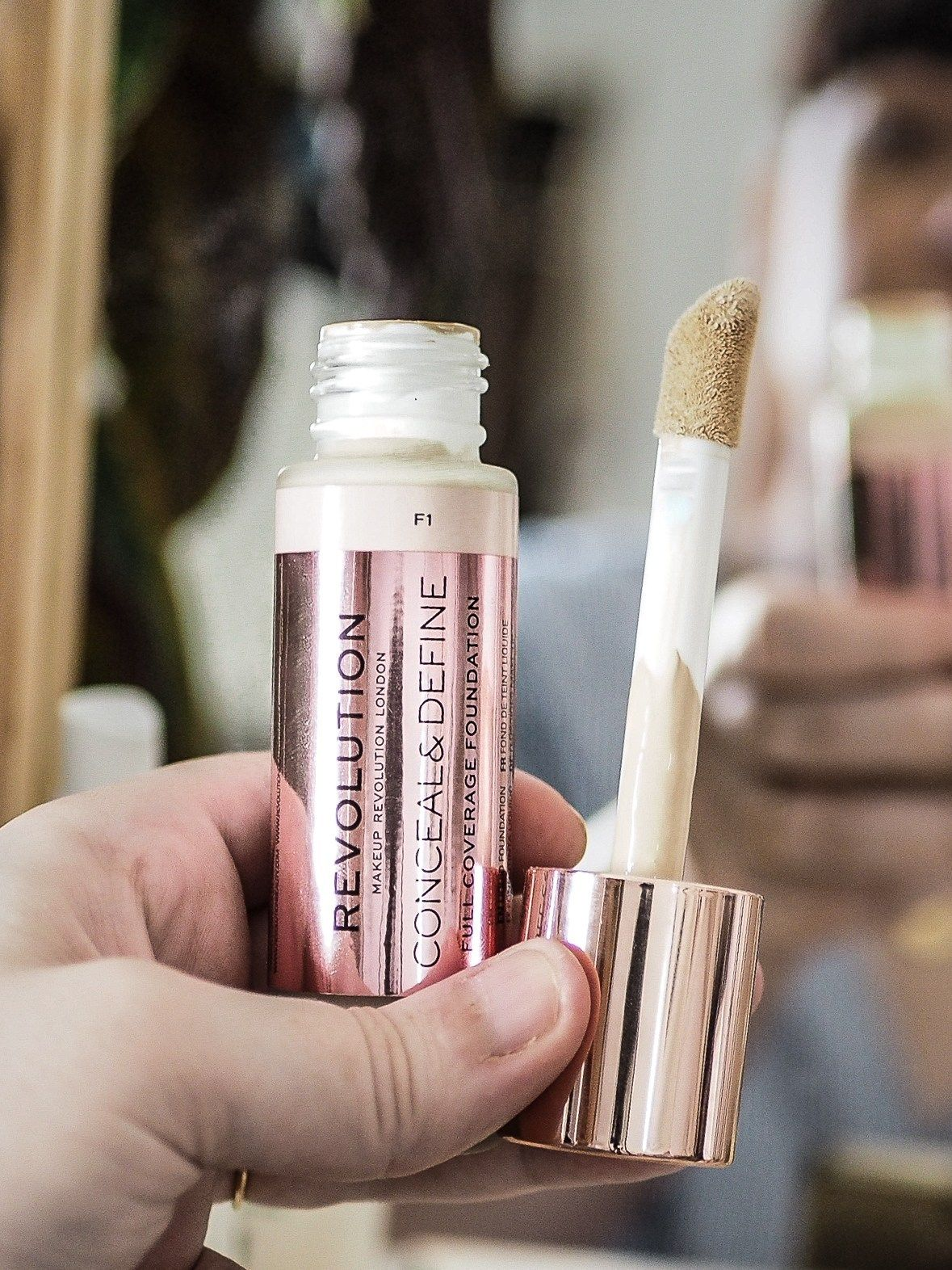 Makeup Revolution Conceal & Define Foundation Review