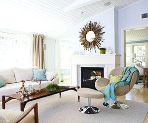 clean decor | modern beach decor | Pinterest