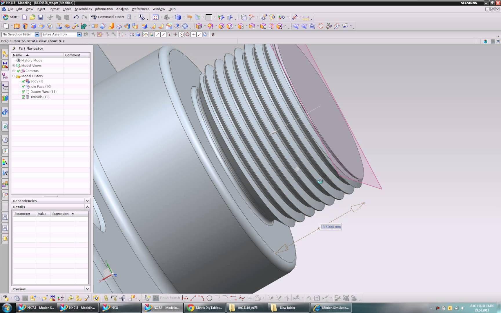 Siemens NX - Thread | siemens nx cam | Appliances, Home