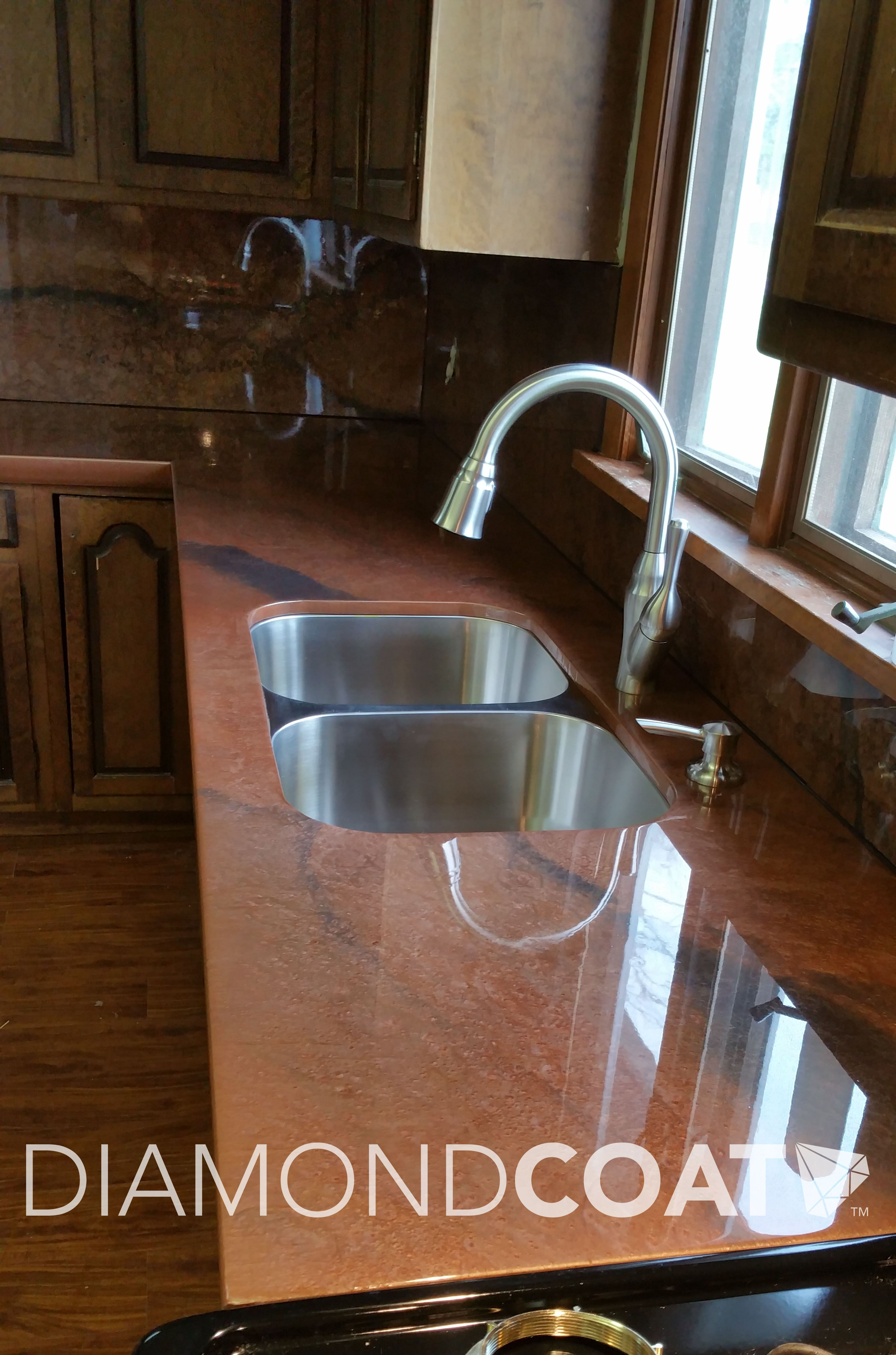 This Bronze And Charcoal Epoxy Countertop Is The Home Chef S Best