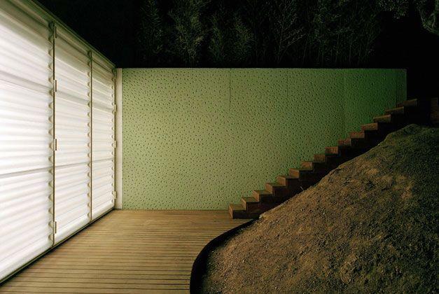 Iñaki Ábalos & Juan Herreros, painting studio for Luis Gordillo, Madrid, 1999-2002: