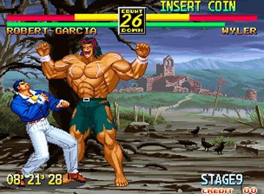 art of fighting 3 neo geo