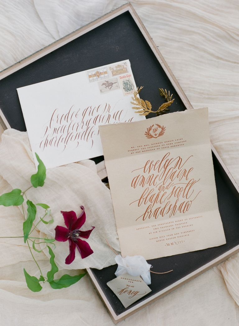 Your Guide To Wedding Calligraphy Calligraphy Wedding Calligraphy