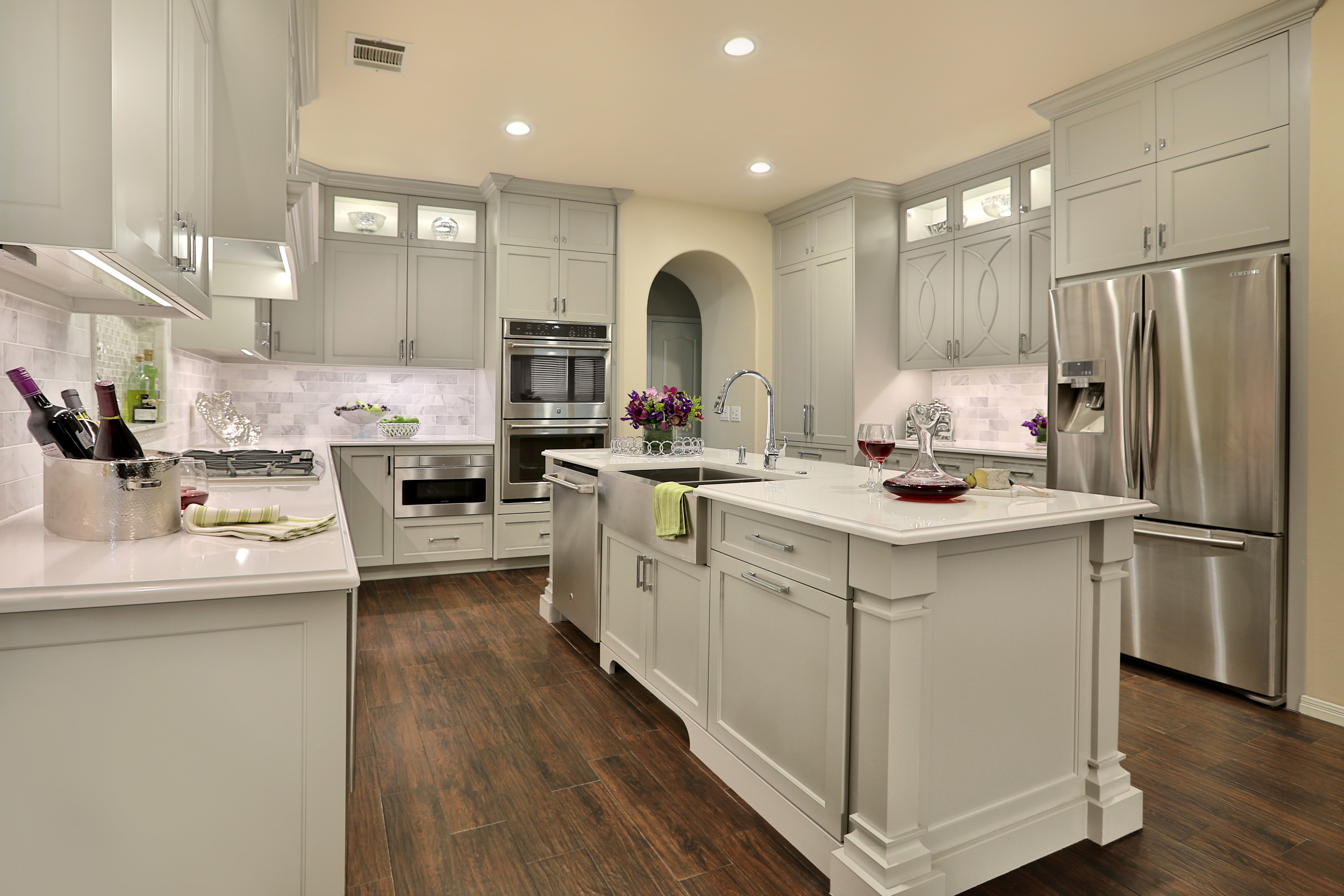 Beautiful Marble Backsplash Kitchen New Room Styles