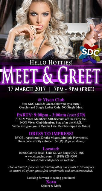 Meet greet after party vixen club van nuys ca friday mar 17 7am meet greet after party vixen club van nuys ca friday mar 17 7am m4hsunfo