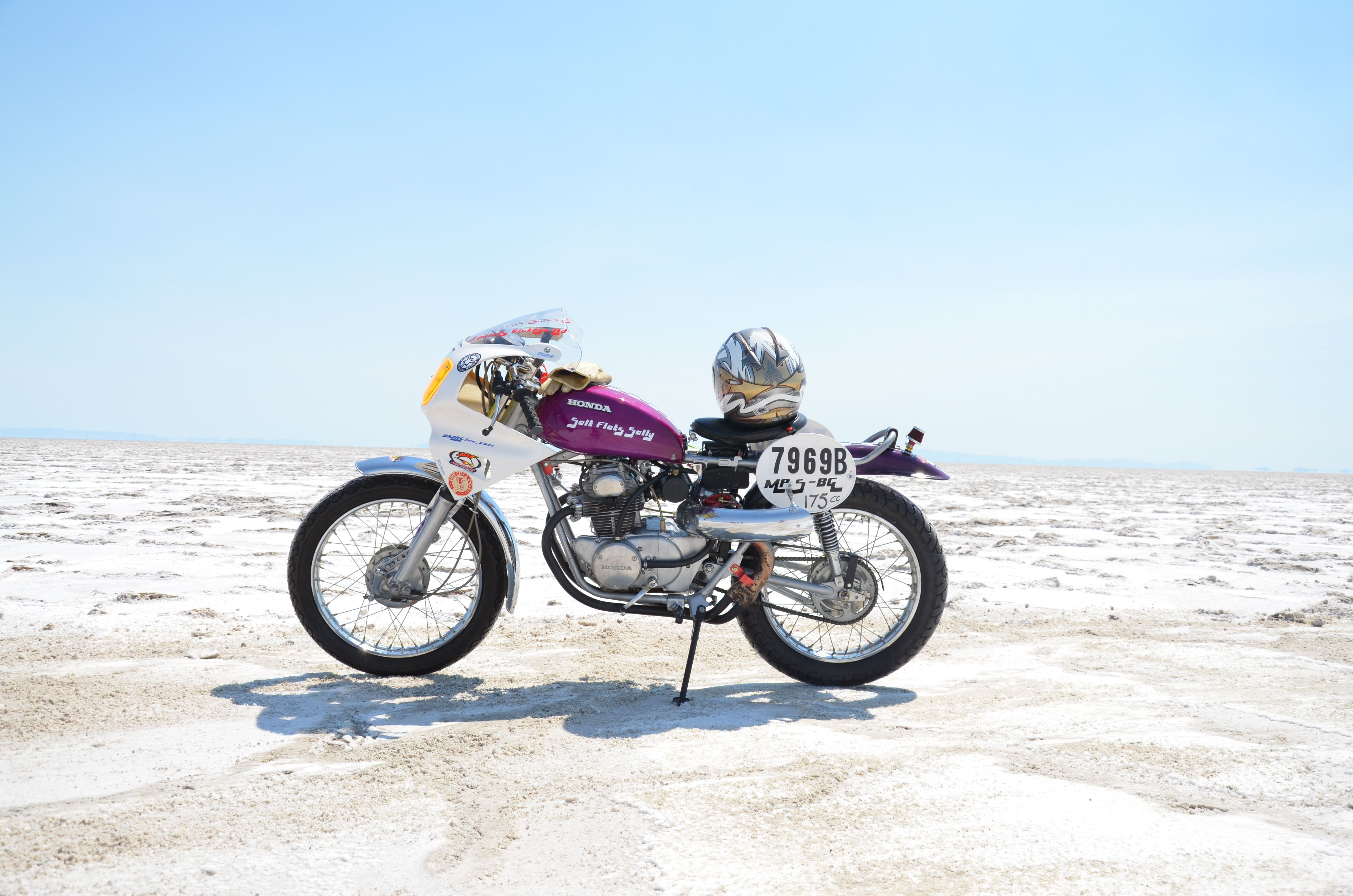 Honda Turbo 175cc World Record BIke