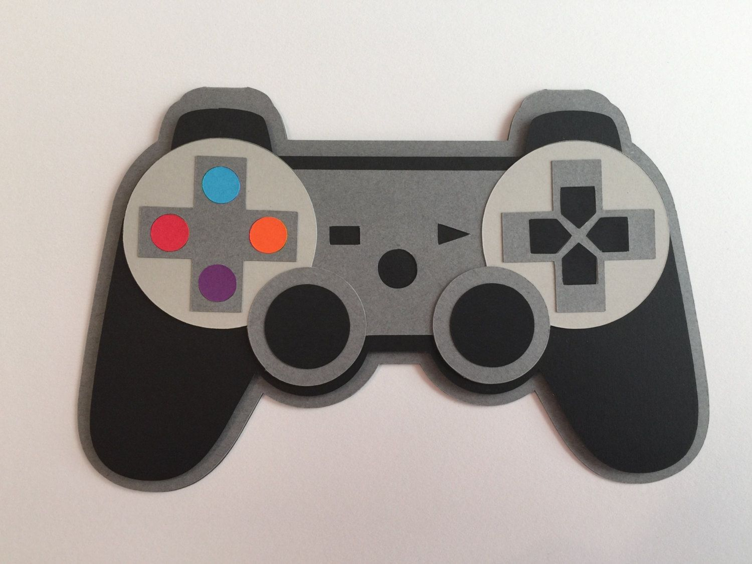Handmade Birthday Game Controller Card, Happy Birthday, Gaming, Xbox, Controller
