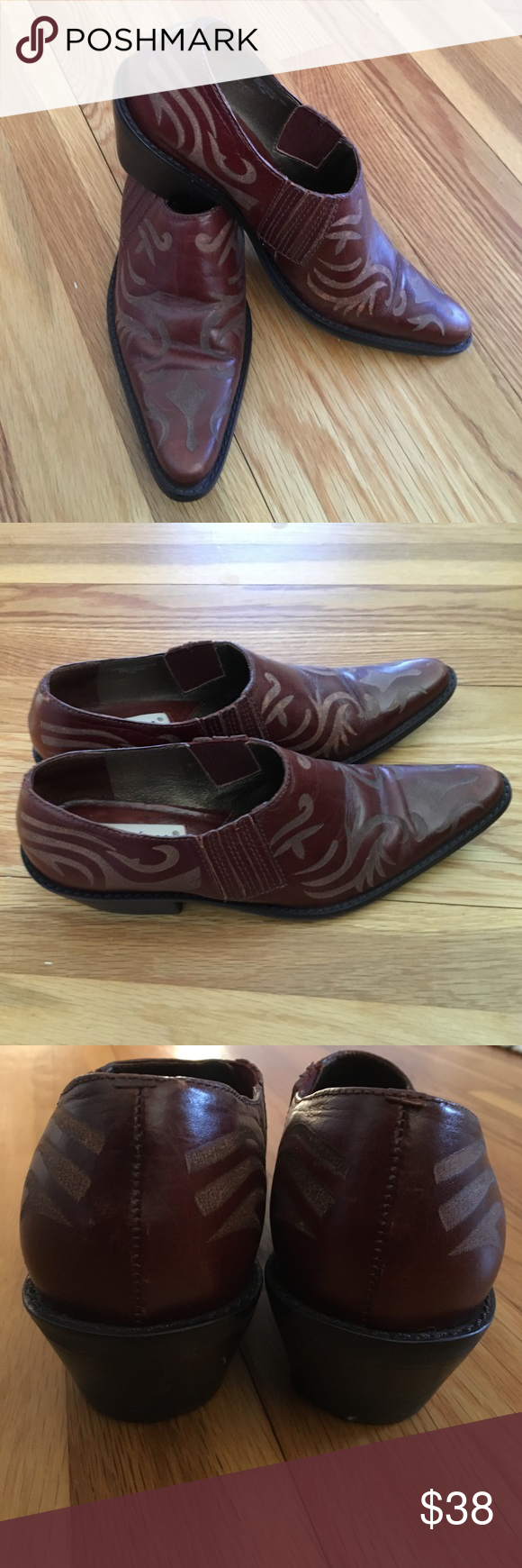 Matisse Booties in Cognac Pointed toe booties in cognac brown. Very little wear in great condition.' Size 7.5 matisse Shoes Ankle Boots & Booties
