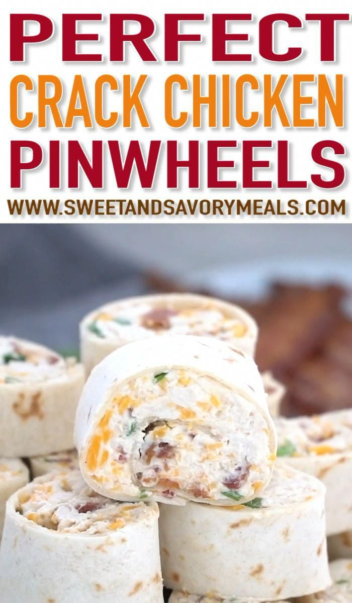 Bacon Cheddar Ranch Pinwheels are the ultimate party appetizers that you can put together in less than 20 minutes.