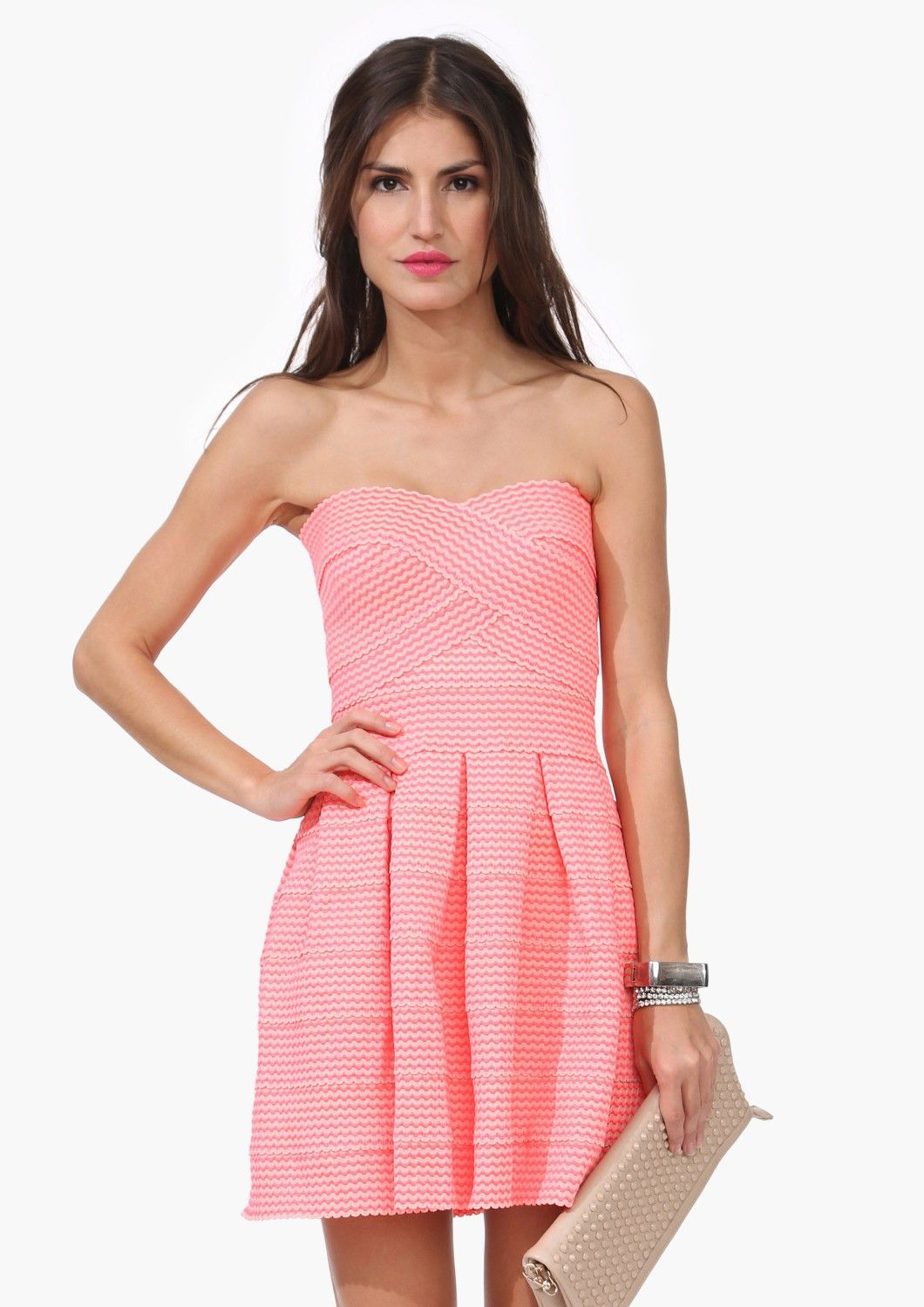 Guest of wedding dresses spring  Neon Bandage Dress  Tattoos and Trends  Pinterest  Neon Clothes