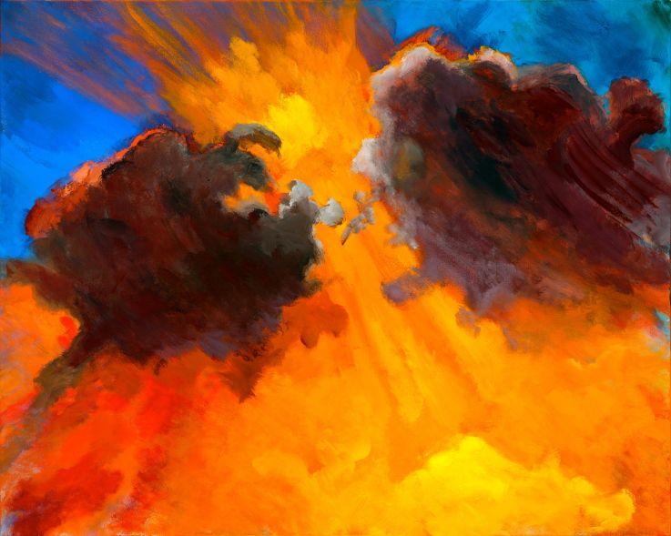 BREAKTHROUGH - Prophetic Art by, Latimer Ramsey | Prophetic art, Jesus art, Prophetic painting