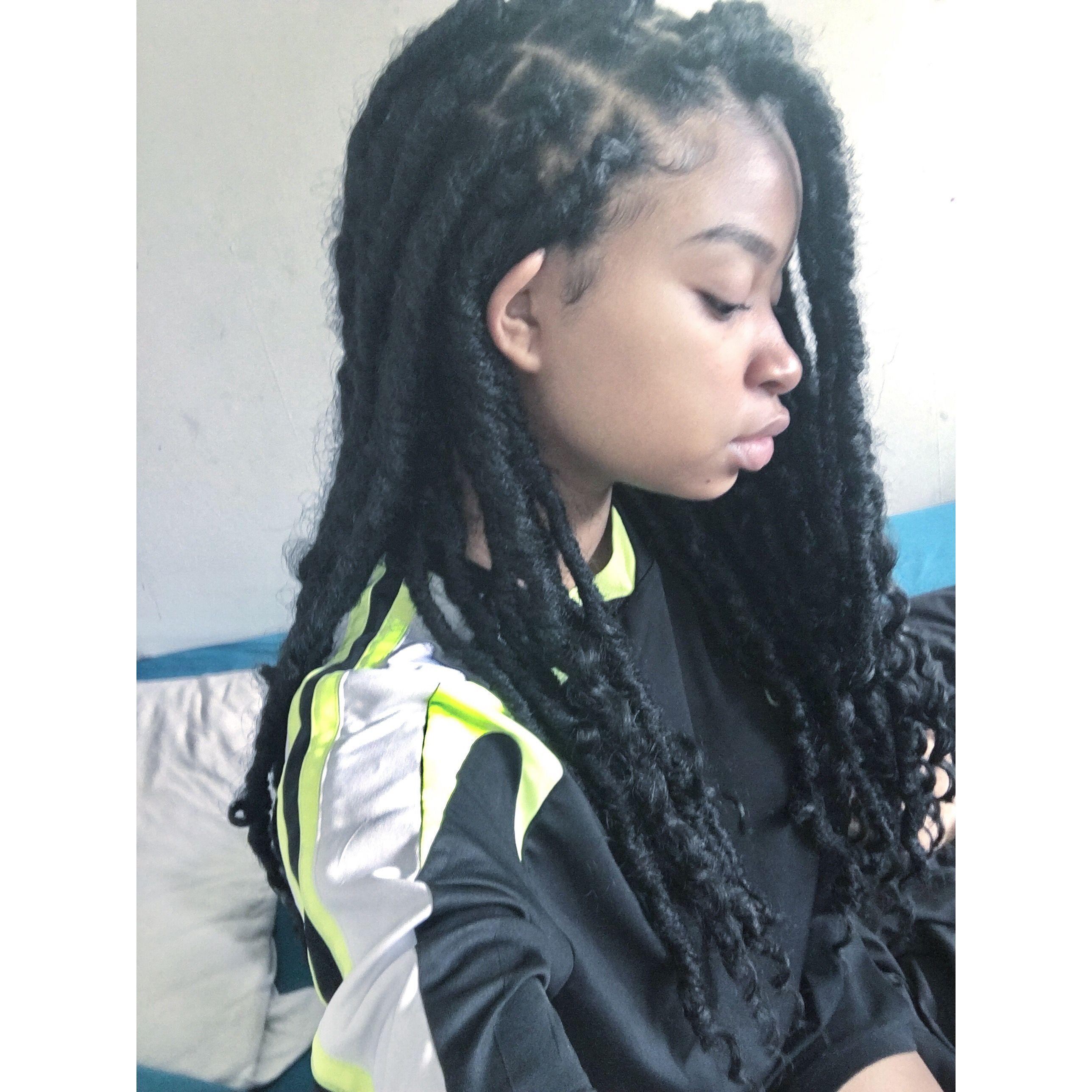 Bohemian goddes locs Hair Pinterest