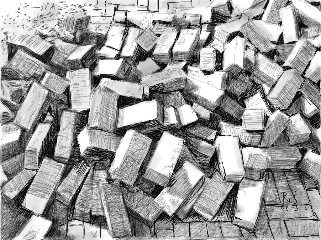 Rob van Doeselaar - Bricks, broken road