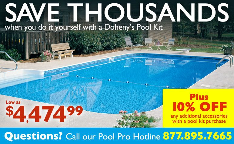 Inground pools home pool kits dohenys pool and backyard ideas inground pools home pool kits dohenys solutioingenieria Gallery
