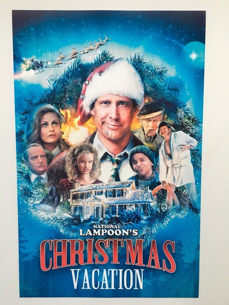 Christmas Vacation 11x17 Movie Poster 1989 In 2020 National Lampoons Christmas Vacation Movie Christmas Vacation Movie Vacation Movie
