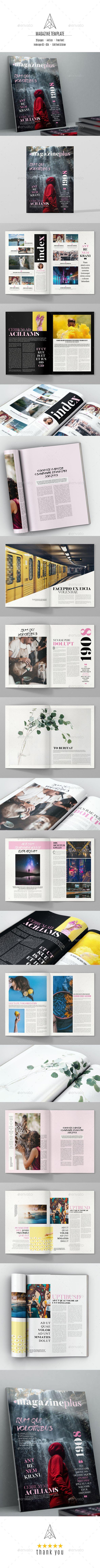 Magazine Template Magazine Template