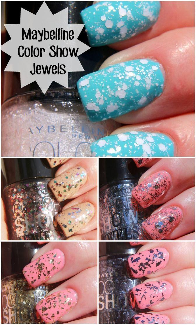 Maybelline Color show Nail Polish The Jewels | UÑAS Y DISEÑOS ...