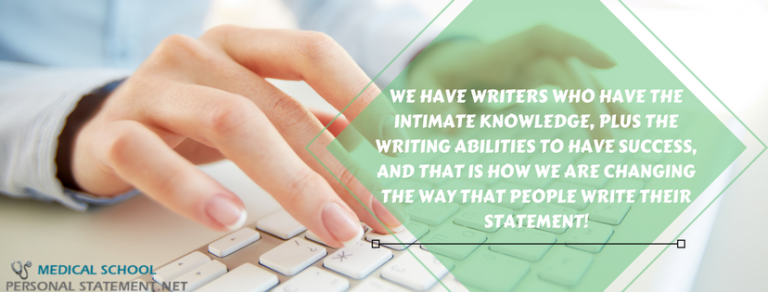 Need Some Professional Med School Personal Statement Writers You