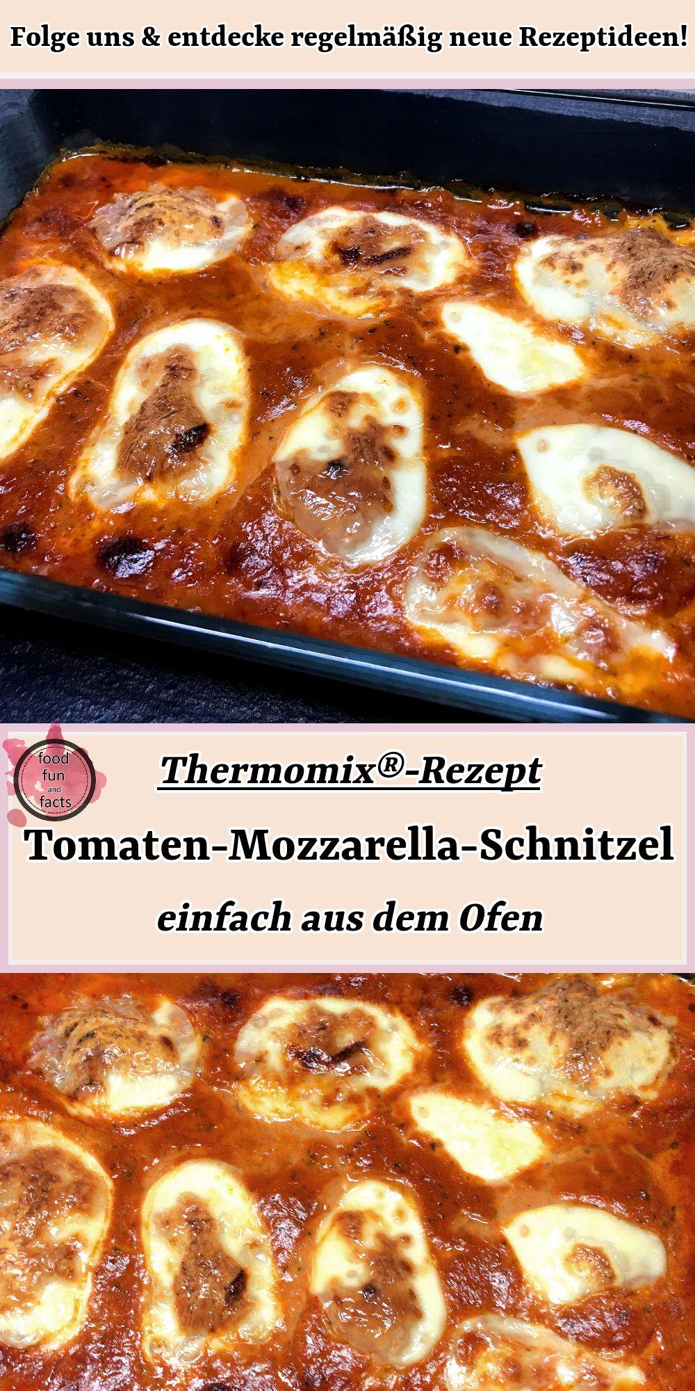 Tomaten-Mozzarella-Schnitzel – einfach aus dem Ofen | Thermomix-Rezept