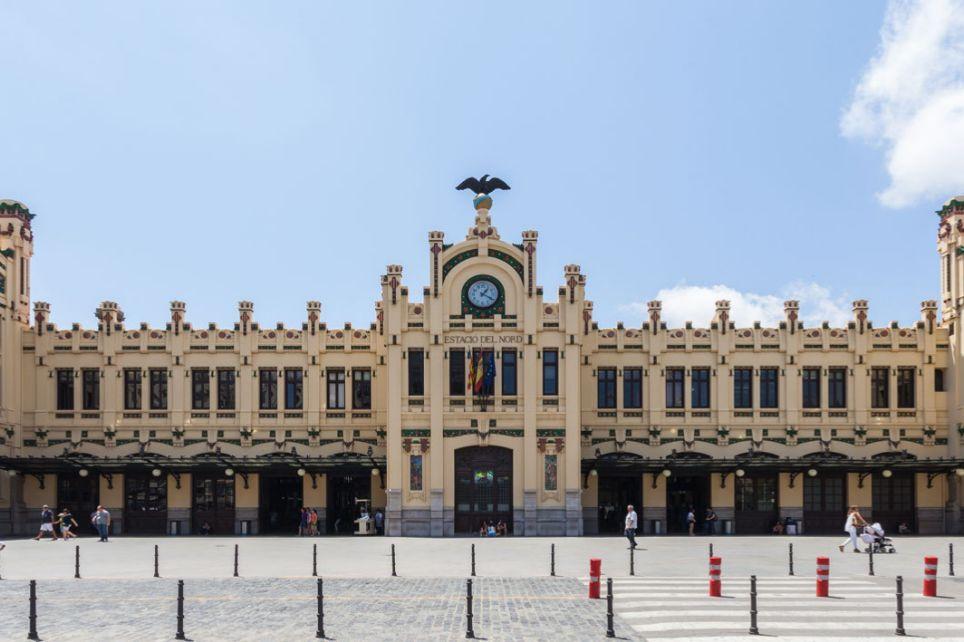 Estación de tren Norte (Valencia) - Spain