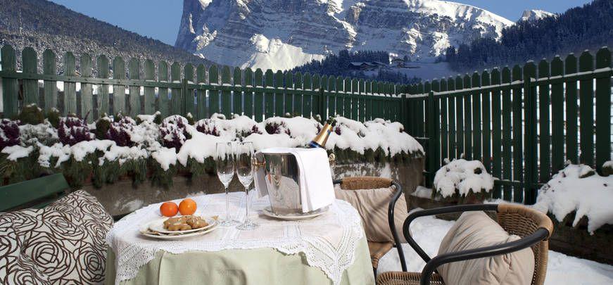 Hotel Cavallino D'Oro in Castelrotto, a village mountaintop escape in #Italy #hotel