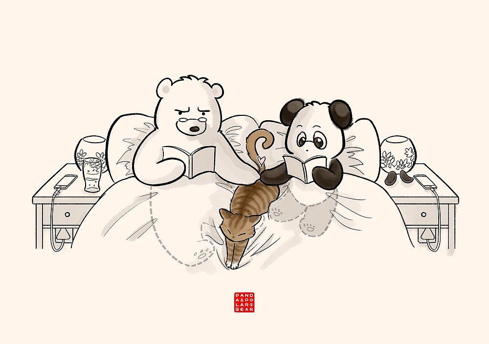 Картинки три медведя панды