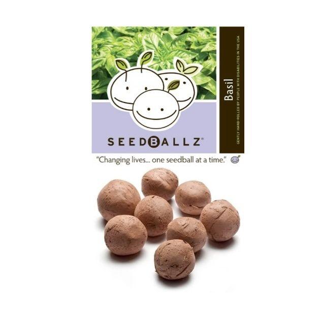 Seedballz Italian Basil - 8 Pack - Domestic Good