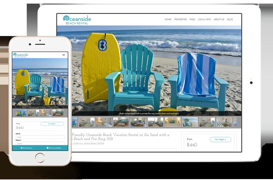 beautiful vacation rental website templates vacation
