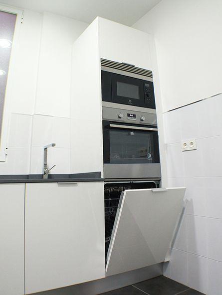 Diseno Y Reforma De Cocina En Madrid Linea3cocinas Barrio De Las Letras Muebles De Cocina Decoracion De Cocina Cocinas