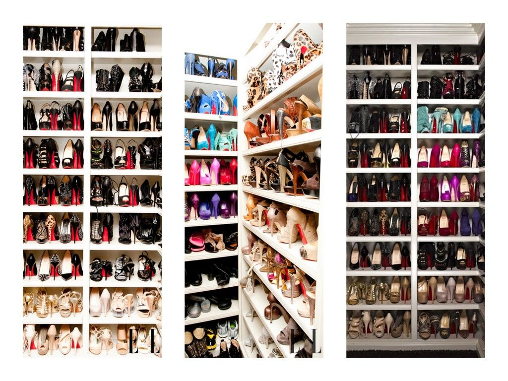 Khloe Kardashians Shoe Closet Jealous