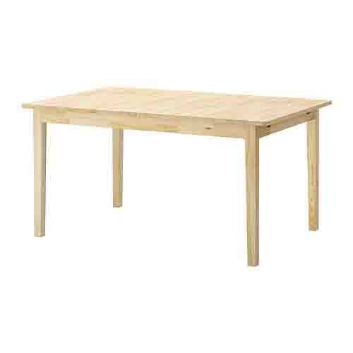 Materials Svalbo table water based wood stain water based white