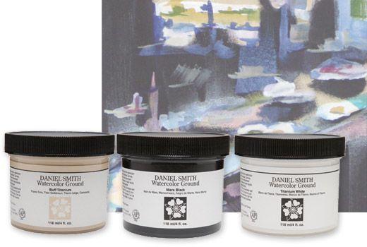 Daniel Smith Watercolor Ground 4oz Jars Totally Wanty Wanty
