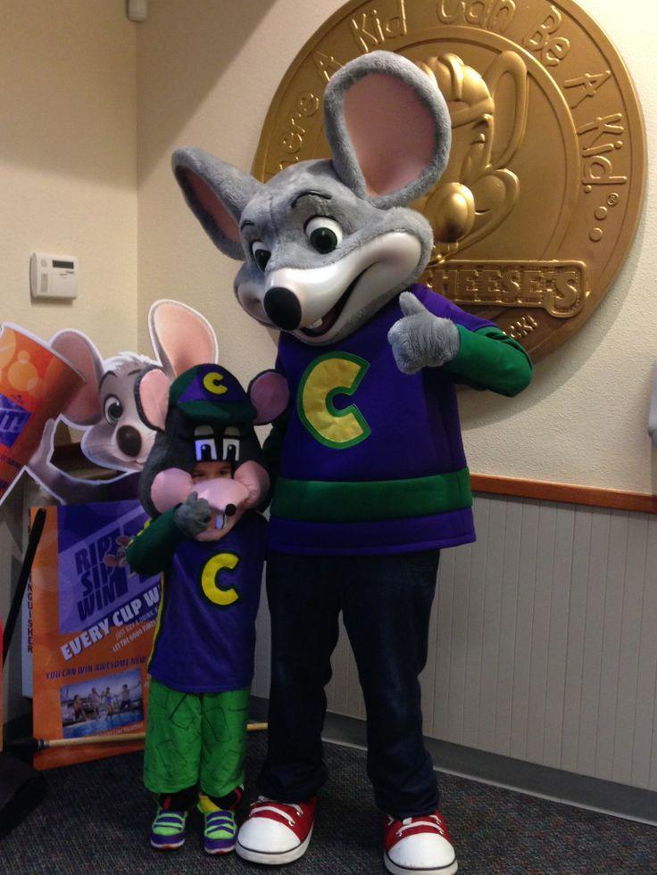 Chuck E Cheese Meets Chuck E