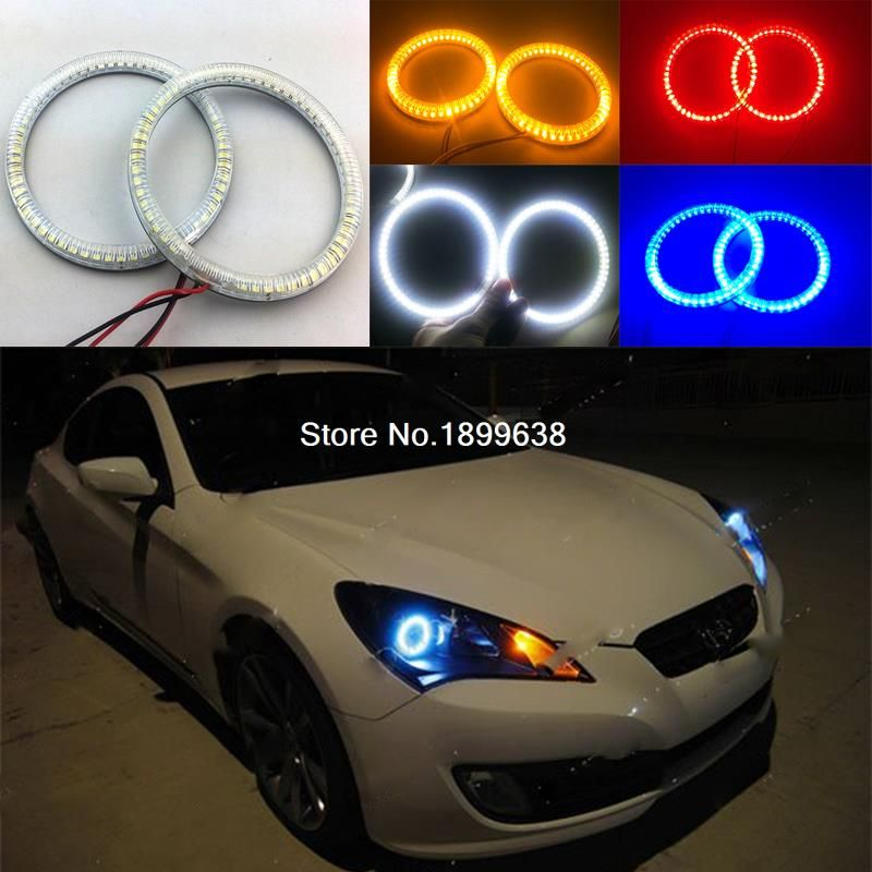 Super Bright Red Blue Yellow White 3528 Smd Led Angel Eyes