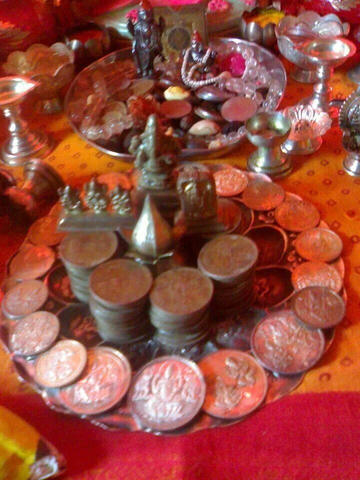 Laxmi pooja...on Diwali..beautiful pic..