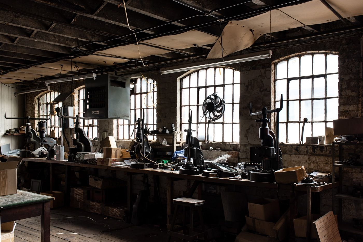 Gun Quarter Birmingham Press Shop Industrial Birmingham