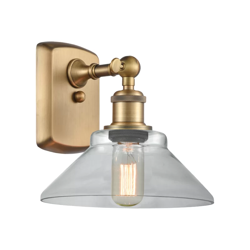 Nyle 1 Light Dimmable Armed Sconce Innovations Lighting Sconces Vintage Led Bulbs