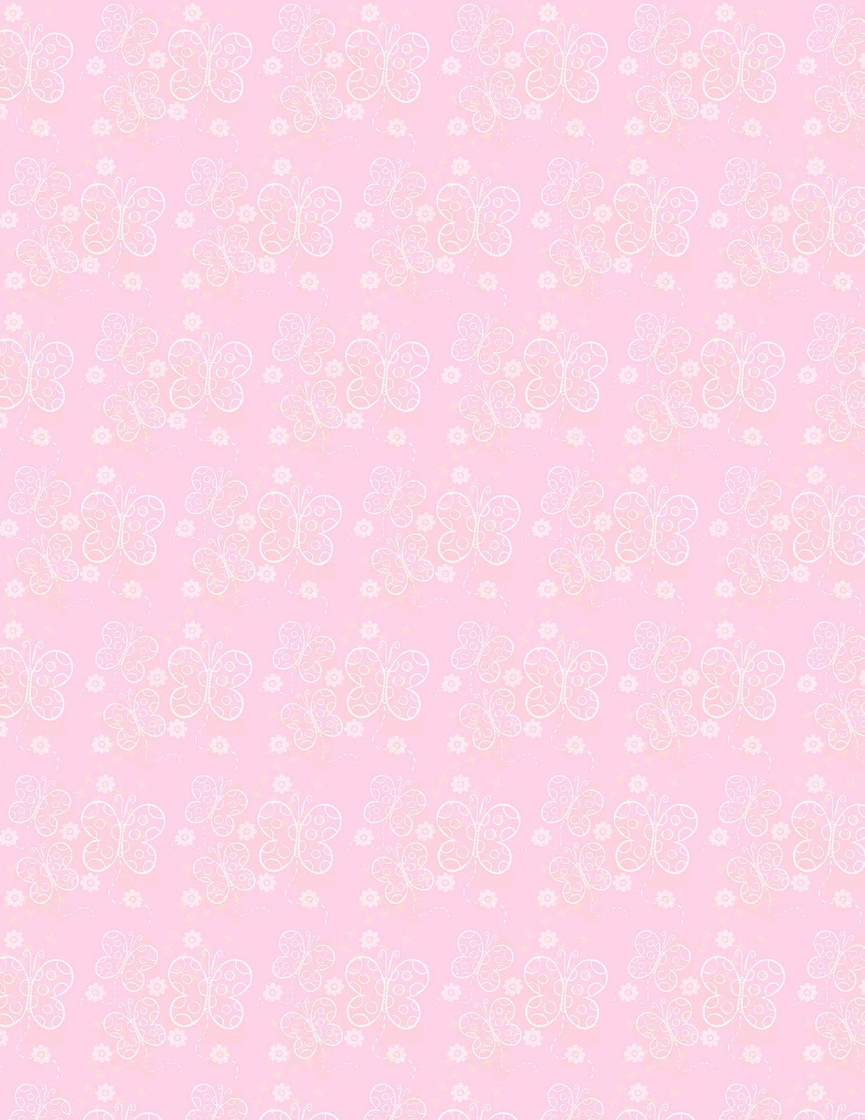 Pink Butterfly Backgrounds Free Scrapbooking Supplies Butterflies