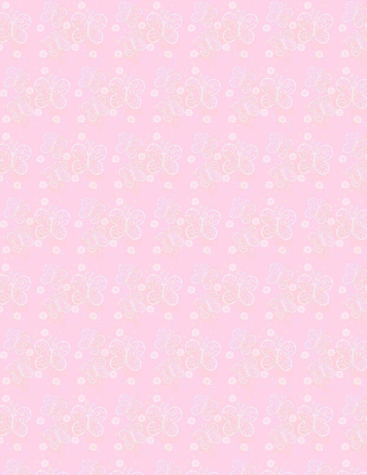 Scrapbook paper dollhouse wallpaper - Images Of Free Scrapbooking Supplies Butterflies Are Pink Scrapbook Paper Wallpaper