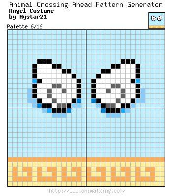 Wings Pattern Animal Crossing Animal Crossing Qr Animal