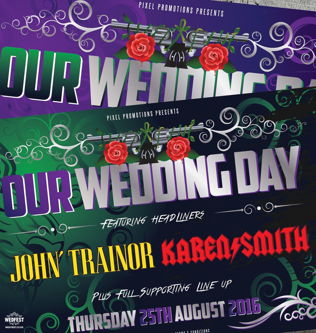 Heavy Metal Concert Ticket Wedding Invitation Wedfestco: Heavy Metal Wedding Invitations At Websimilar.org