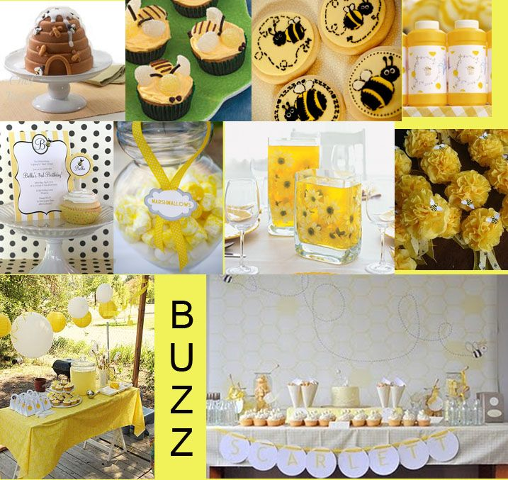 Bee Themed Party Inspirations To Go With Our Decorations