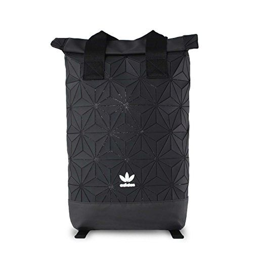 Adidas Womens 3D Roll Top Backpack in Pearl Leather