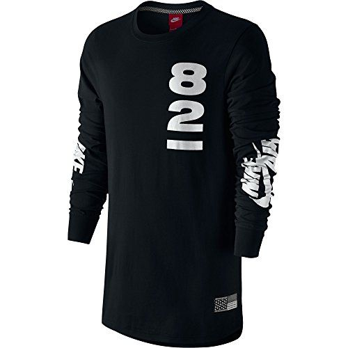 NIKE Nike Air Pivot V3 Men'S Long Sleeves T-Shirt Black/White 744277-