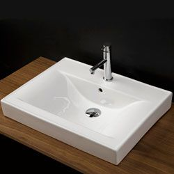 Lacava 5475 Spring Porcelain Vanity Top With An Overflow Bathroomsink Sink Blondybathhome