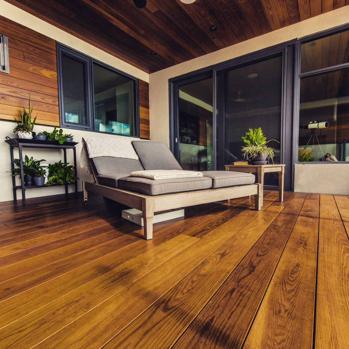 Shaken Not Sturred Wood Deck Fine Living Wood
