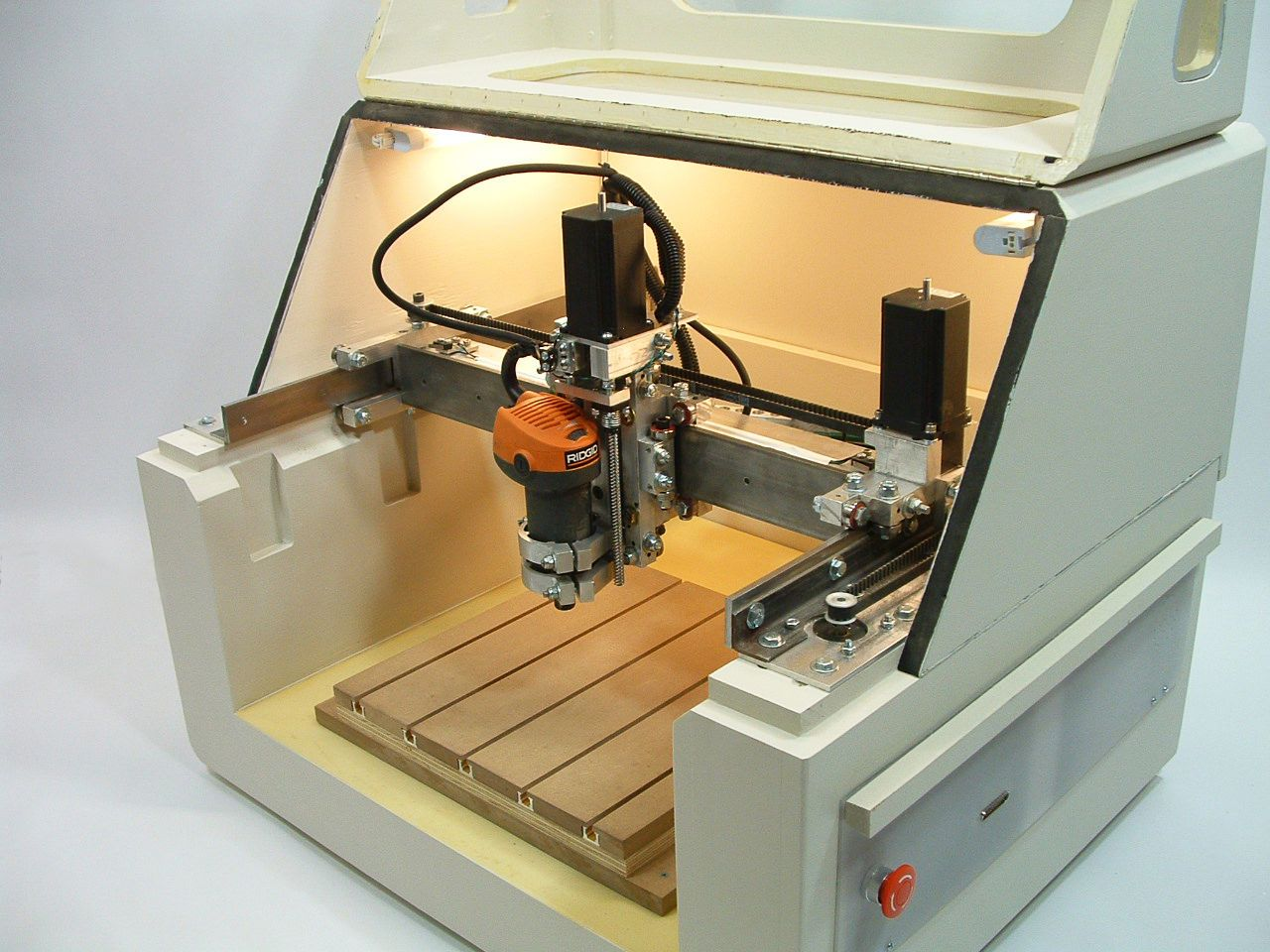PLANS to build CNC 40 axis router table, milling machine, engraver ...