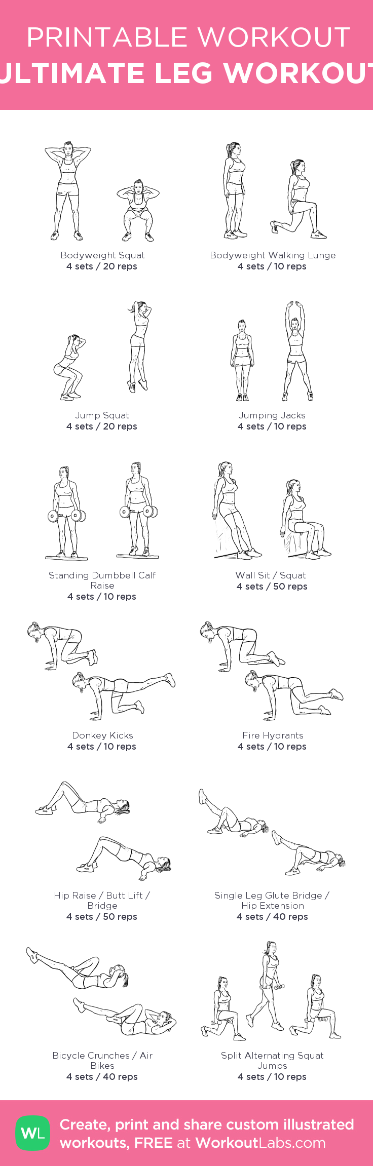 It is an image of Current Free Printable Workouts